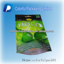 Plastic food Dry fruit/Vegetables packaging bags/stand up pouch