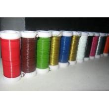 PET colorido revestido metal vinculativo Wire (XS-130)
