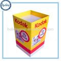 Werbungs-Pop-Pappwühlkorb, Papiermaterial-Wiederverwertungswühlkorb-Ausstellungsstand