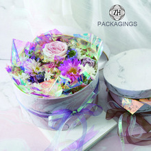 High+end+cardboard+round+flower+box+wholesale