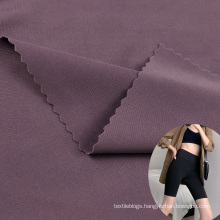 wholesale double sided jersey nylon spandex 4 way stretch lingerie fabric