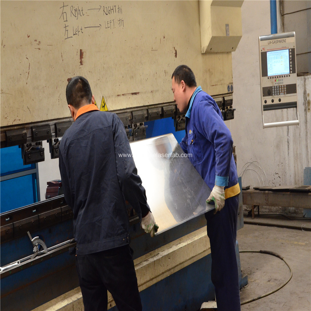 Sheet Metal Fabrication Bending Services