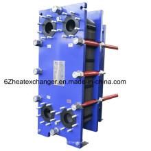 Intercambiador de calor de placas con juntas