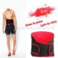 Ventilated magnetic waist support belt for men