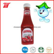 Ketchup de tomate de haute qualité d'usine de pâte de tomate chinoise
