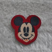 Patch de tecido de desenhos animados usado para vestuário infantil / sapato / bolsa de escola