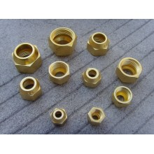 Brass Nut for Aircon Connection Tube