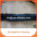 For Garment fur strips / Rex Rabbit Fur Trimming