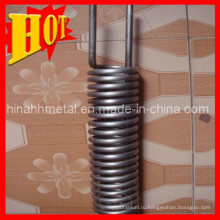 Цена для ASTM B337 титановые трубы в катушке