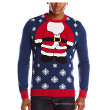 PK1875HX feio camisola de Natal dos homens Santa Light Up