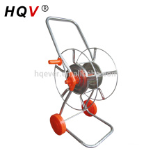 B17 two wheels steel garden hose reel cart