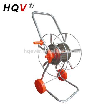 B17 two wheels steel garden hose reel cart