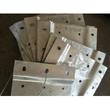 Fabrication en métal d'OEM de coût bas et pièces de soudure pour l'usage de construction