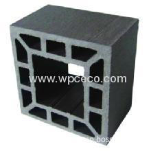 100x100mm Fashionable Wpc Hollow Square Column