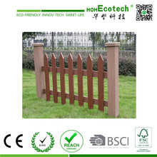 Composite Garten-Decking, Ecofriendly Dekorative WPC Gartenzaun