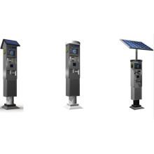 Máquina de publicidad de carga solar LCD