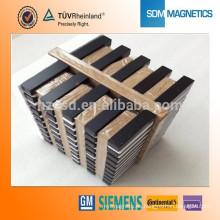 Imán permanente de la fabricación de China N42 Cilindro Magnetics motor Magnetic Block