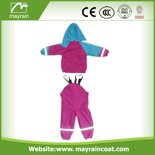 Hight Quality PU Rainsuit