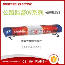 Barre lumineuse d'avertissement LED de supervision d'autoroute NUOTENG 12VDC avec alarme 100W