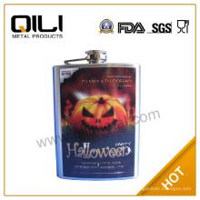 FDA 8 унций продвижение фляга с Хэллоуин тыква создатель