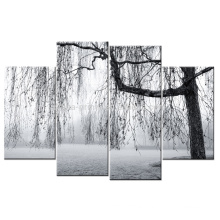 Black And White Tree Picture Print/Wall Decor Canvas Art/Painting Canvas Print