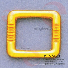China Supplier Popular For Handbag Square Gold Ring