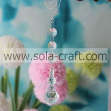 Hot Sell 17.5CM Clear Transparent Grade A Acrylic Full Faceted Bubble Wedding Tree Beading Dropping Fitting