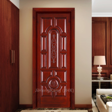 JHK Sale Prison Hand Carved Solid Teak Wood Interior Sliding Door