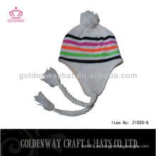 Diseño personalizado sombreros de invierno sombreros de punto de mujer