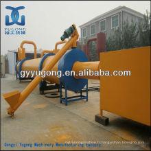 Séchoir à tambour rotatif à sauts Yugong