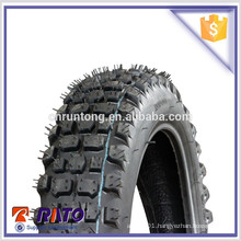 Rubber tubeless motorcycle tire with 506 patterns