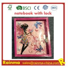 Cuaderno de niños con cerradura para regalo de papelería