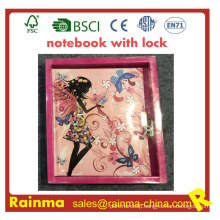 Kids Notebook with Lock for Stationery Gift