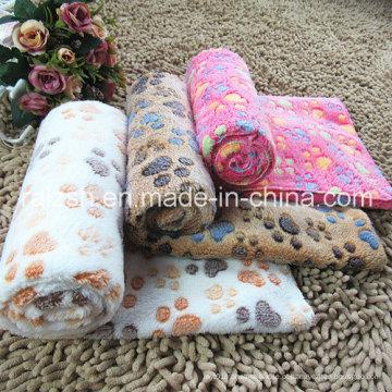 Cobertor quente do cobertor do animal de estimação Cobertor quente