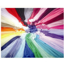 Glass Organza, Matt Organza Fabric in Multicolors, Marriage Gauze Cloth.