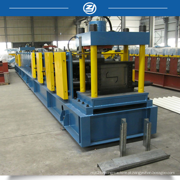Máquina para fabricar Purlin de corte a comprimento Z