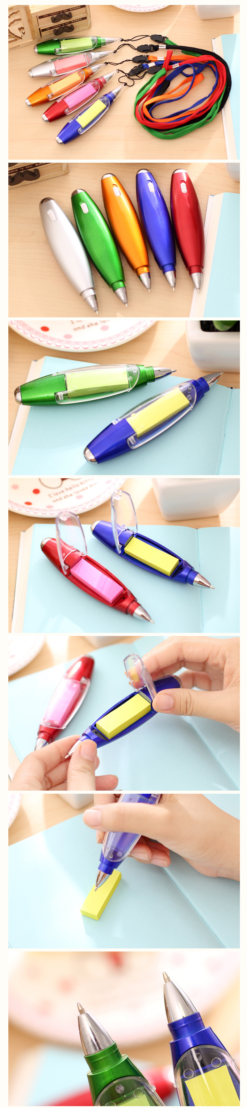 Gift Pen with Notepaper