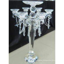 Crystal Candle Holder with Seven Posters...