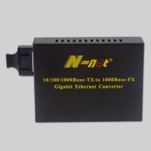 120KM Gigabit Fiber Media Converter