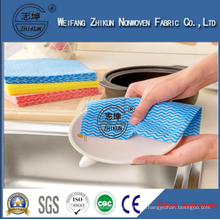 Disposable 13mesh 18 Mesh 22 Mesh Spunlace Nonwoven Fabric for Kitchen Clean
