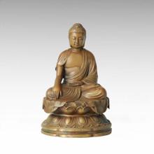 Statue de Bouddha Bodhisattva Avalokitesvara Bronze Sculpture Tpfx-B134 / B136 / B137