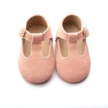 Leuke lederen Mary Jane baby schoenen