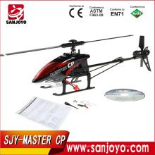 6ch Walkera Master CP Flybarless super 3d rc helicóptero com GYRO com DEVO 7 mais recente 6-Axis