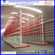 Nanjing Steel Q235 Warehouse Cantilever Rack