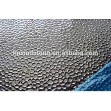 Feuille d'aluminium Hammertone