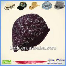 Sombreros del diseño / sombreros 100% del sombrero del algodón para las mujeres gorras de las gorras del sombrero del hipopótamo de las mujeres de las señoras para las boinas del mens de los hombres, LSC31