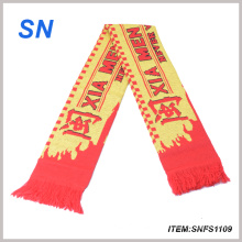 High Quality Cheap Wholesale Custom Football Scarf Fan Scarf Soccer Scarf