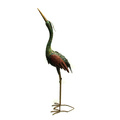 Rough Metal Crane Animal Home and Garden Decoration