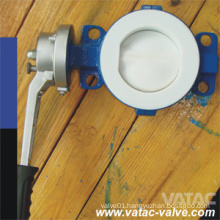 Pn10/Pn16 Wafer Type Full Lined Butterfly Valve with NBR/EPDM/Nr