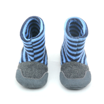 Stripe Sock Booties Baby-winterlaarzen